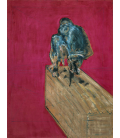 Francis Bacon - Study for Chimpanzee. Printing on canvas