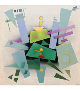 Bauer Rudolf - Invention (Composition 31), Printing on canvas