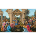 Sandro Botticelli - The Adoration of the Magi. Printing on canvas