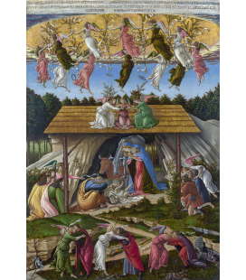 Sandro Botticelli - Mystic Nativity. Printing on canvas