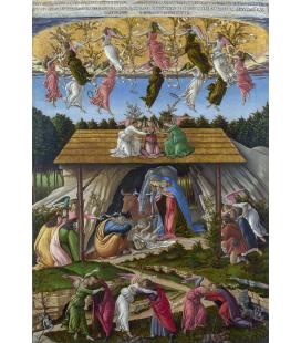 Sandro Botticelli - Presepe mistico. Stampa su tela