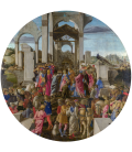 Sandro Botticelli - The Adoration of the Kings. Printing on canvas