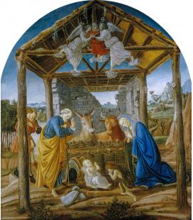 Sandro Botticelli - Natività. Stampa su tela