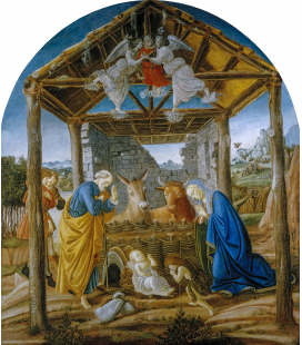Sandro Botticelli - Nativity. Printing on canvas