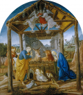 Sandro Botticelli - Nativity. Printing on canvas