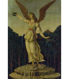 Sandro Botticelli - Una signora di profilo. Stampa su tela