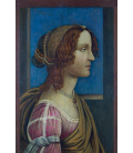 Sandro Botticelli - A Lady in Profile. Printing on canvas