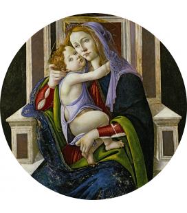 Sandro Botticelli - Madonna col Bambino. Stampa su tela