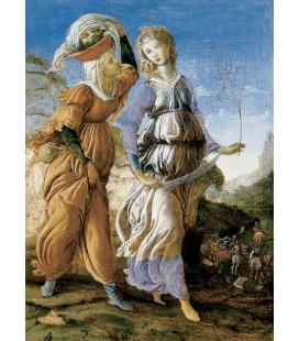 Sandro Botticelli - Judith con la testa di Oloferne. Stampa su tela