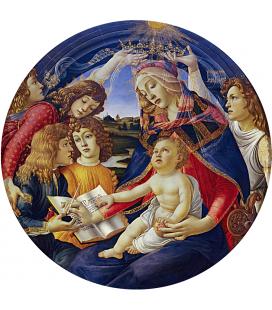Sandro Botticelli - Madonna del Magnificat. Stampa su tela