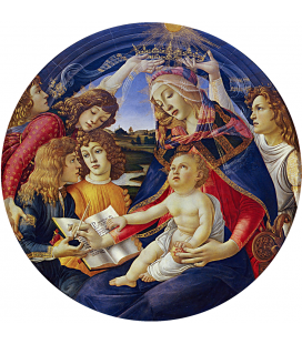 Sandro Botticelli - Madonna of the Magnificat. Printing on canvas