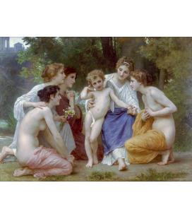 William Adolphe Bouguereau - Ammirazione. Stampa su tela