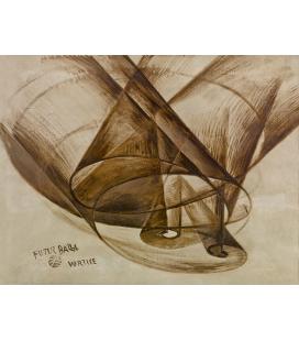 Balla Giacomo - Vortex. Printing on canvas