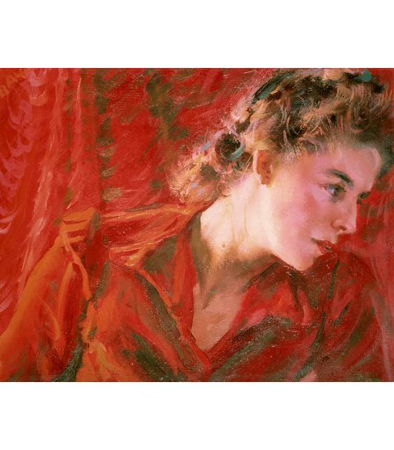 Balla Giacomo - A wave of light. Printing on canvas