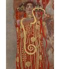 Gustav Klimt - Igea. Stampa su tela