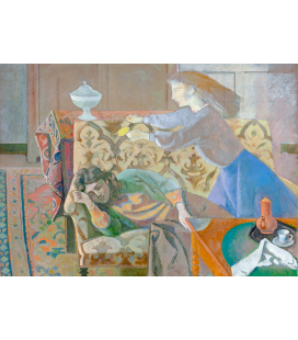Balthus - Succession. Printing on canvas