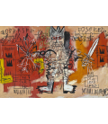 Jean-Michel Basquiat - Untitled. Printing on canvas