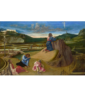 Giovanni Bellini - The Agony in the Garden. Print on canvas
