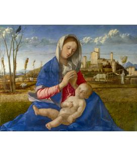 Giovanni Bellini - Madonna del prato. Stampa su tela