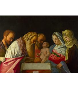 Giovanni Bellini - La Circoncisione. Stampa su tela
