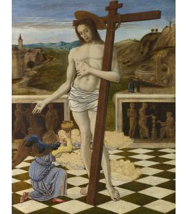 Giovanni Bellini - Il sangue del Redentore. Stampa su tela