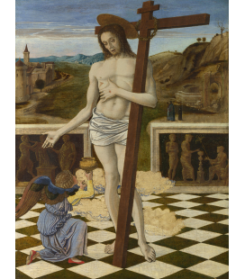 Giovanni Bellini - The Blood of the Redeemer. Print on canvas