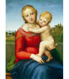 Raphael - Madonna and Child (The Small Cowper Madonna). Printing on canvas