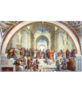 Raphael - School of Athens. Printing on canvas