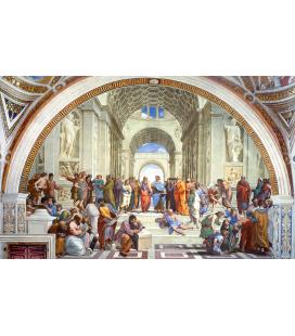 Raffaello Sanzio - Scuola di Atene. Stampa su tela