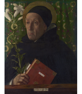 Giovanni Bellini - Saint Dominic. Print on canvas