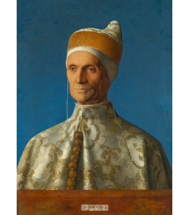Giovanni Bellini - Doge Leonardo Loredan. Print on canvas