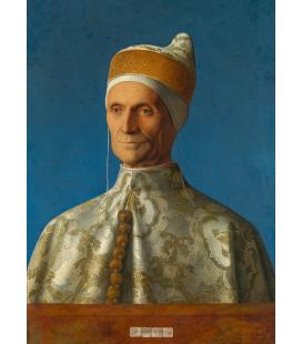 Giovanni Bellini - Doge Leonardo Loredan. Stampa su tela