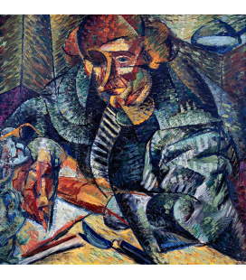 Boccioni Umberto - Copywriting. Printing on canvas