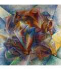 Boccioni Umberto - Dynamism of a Soccer Player. Printing on canvas