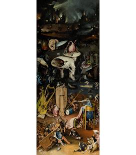 Hieronymus Bosch - Giardino dei piaceri terreni 3. Stampa su tela