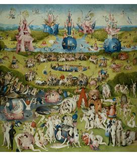 Hieronymus Bosch - Giardino dei piaceri terreni 2. Stampa su tela