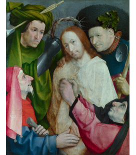 Hieronymus Bosch - Christ Mocked (The Crowning with Thorns). Printing on canvas