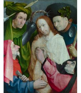 Hieronymus Bosch - Cristo deriso (L'incoronazione di spine). Stampa su tela