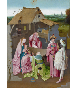 Hieronymus Bosch - The Adoration of the Magi. Printing on canvas