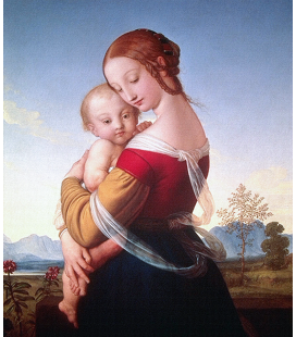 Raphael - Madonna and Child in Landscape