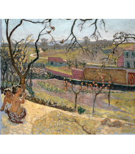 Pierre Bonnard - Inizio Primavera. Stampa su tela