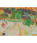 Pierre Bonnard - View from the artist's studio. Printing on canvas