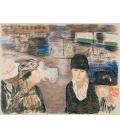Pierre Bonnard - Place Clichy. Printing on canvas