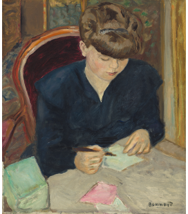 Pierre Bonnard - The letter. Printing on canvas