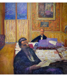 Pierre Bonnard - I fratelli Bernheim-Jeune. Stampa su tela
