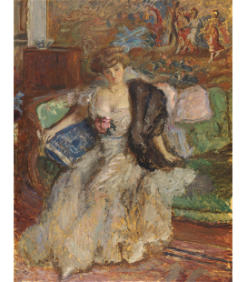 Pierre Bonnard - Misia Godebska. Printing on canvas
