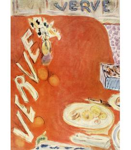 Pierre Bonnard - Verve. Stampa su tela