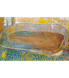 Pierre Bonnard - A silent intimacy. Printing on canvas