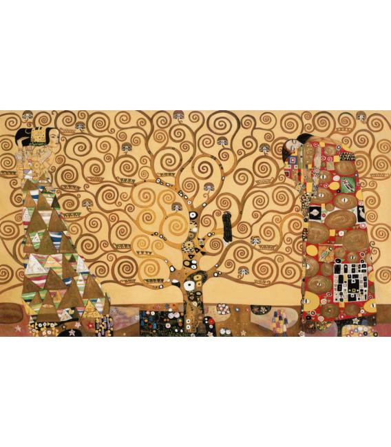 Stampa su tela: Gustav klimt - L'albero della Vita