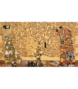 Printing on canvas: Gustav Klimt - The Tree of Life